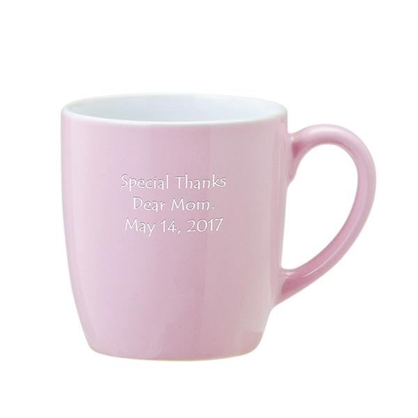 セラミックマグ ピンク