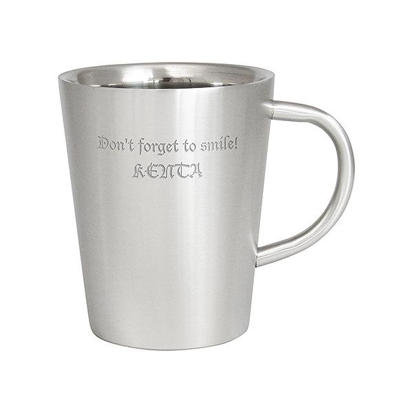 ダブルウォール ステンレスマグカップ