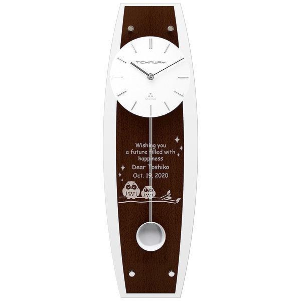ペンデュラムクロック ウェンジウッド (電波時計)