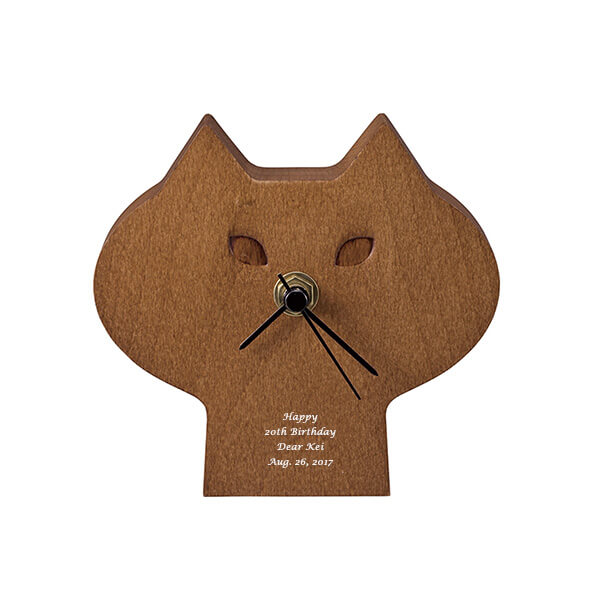 ひげねこ時計