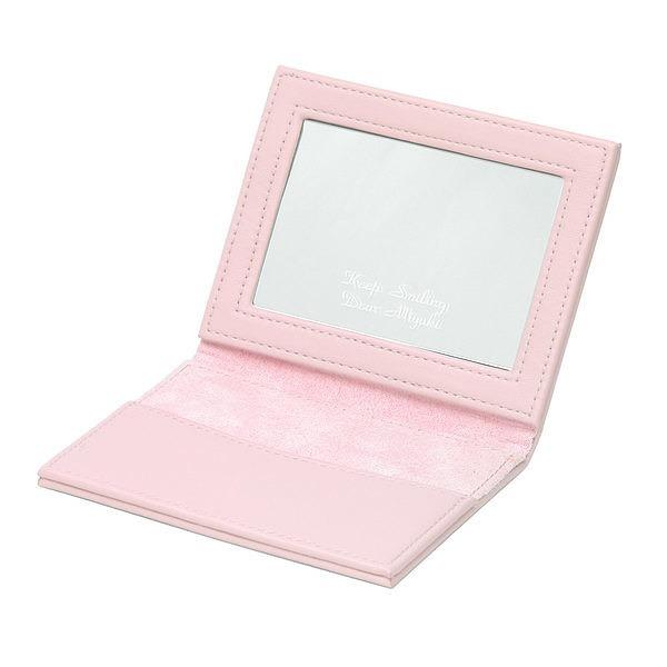 カードコンパクトミラー ピンク