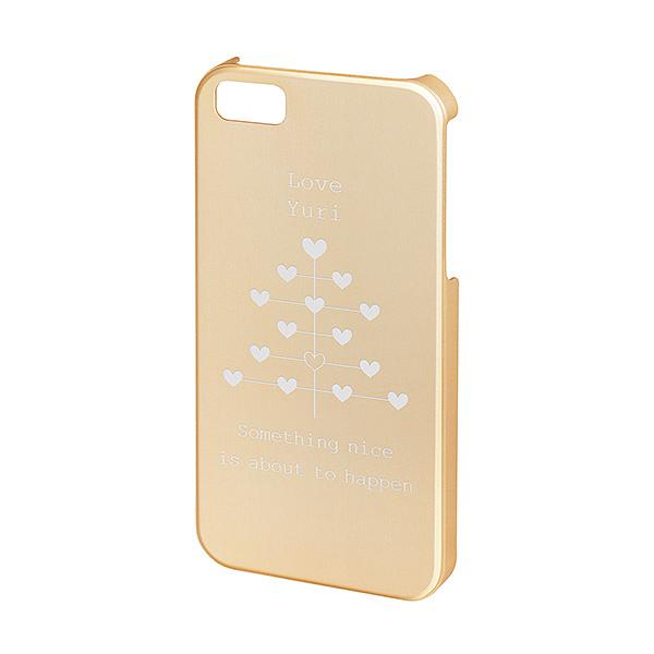 iPhone SE/5s/5 アルミケース シャンパンゴールド