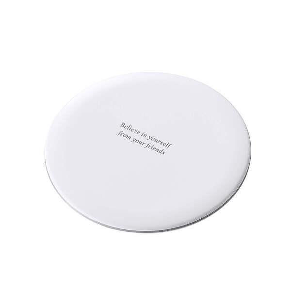 Qi ワイヤレス充電器 ホワイト