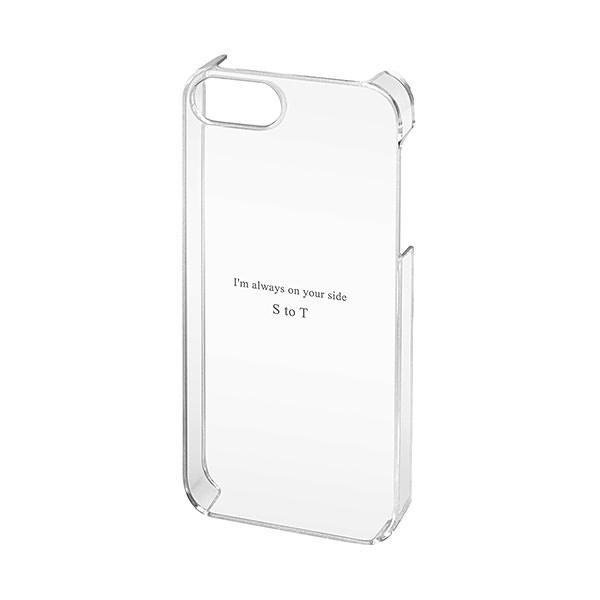 iPhone SE/5s/5 シェルカバー クリアー
