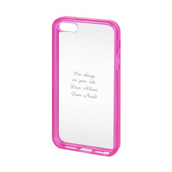 iPhone SE/5s/5 バンパーケース ピンク