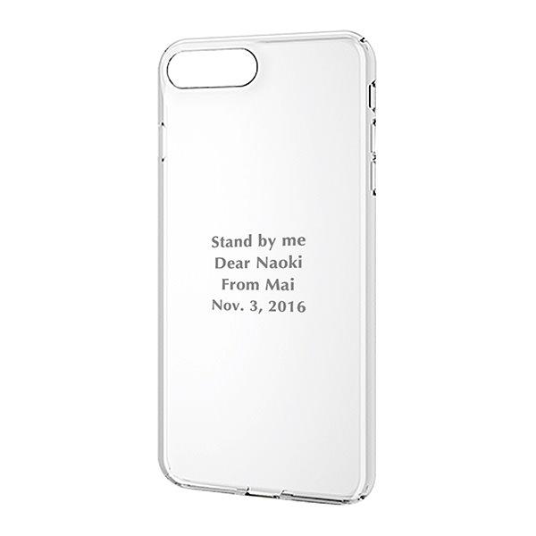 iPhone 8/7 Plus シェルカバー クリアー
