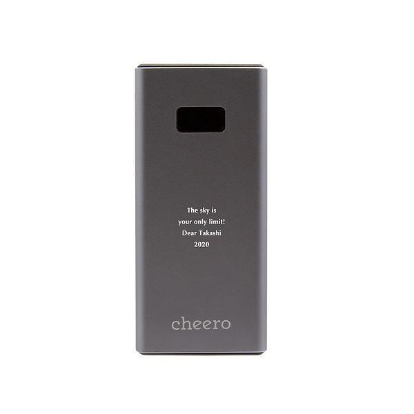 モバイルバッテリー パワープラス メタリックグレー