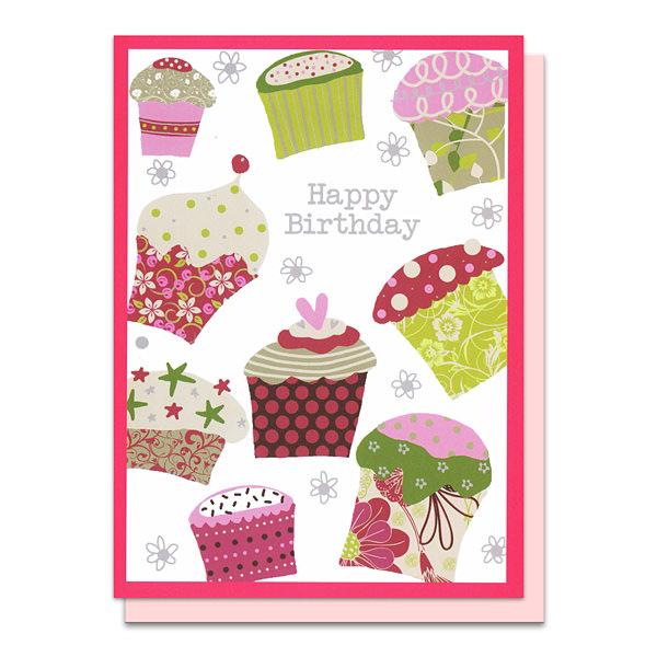 メッセージカード バースデーケーキ
