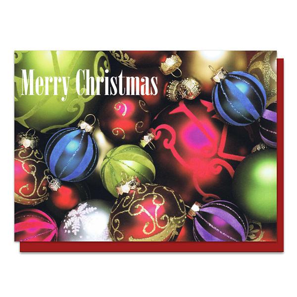 メッセージカード クリスマスオーナメント