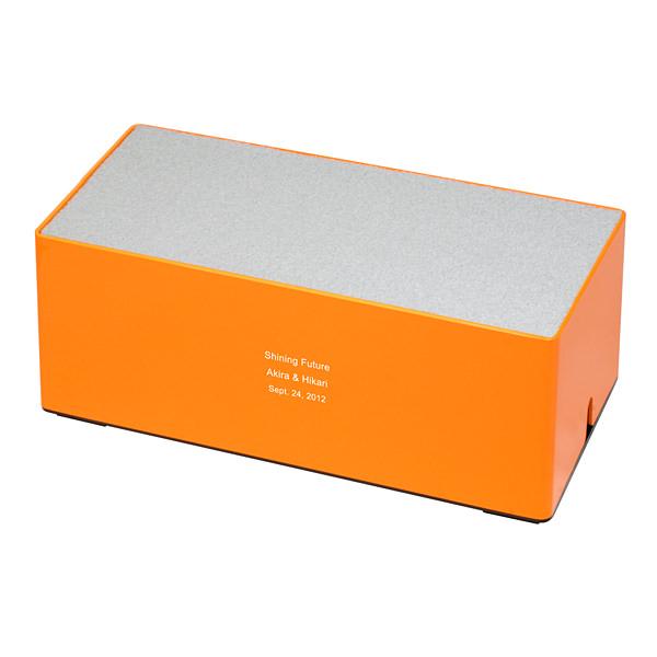 モバイル充電ステーション オレンジ