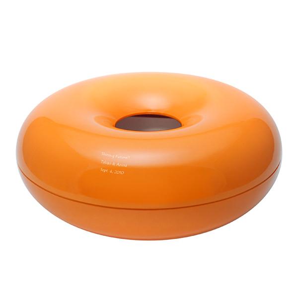 リングティッシュケース オレンジ