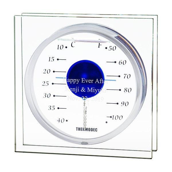 ガリレオ温度計 フロートブルー L