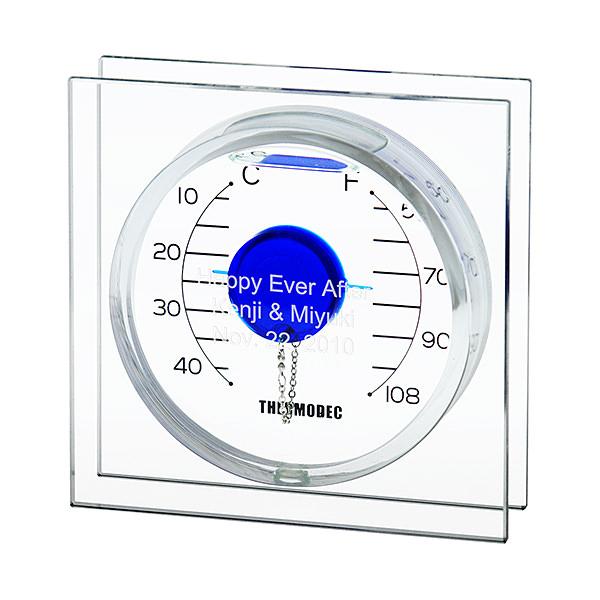 ガリレオ温度計 フロートブルー S