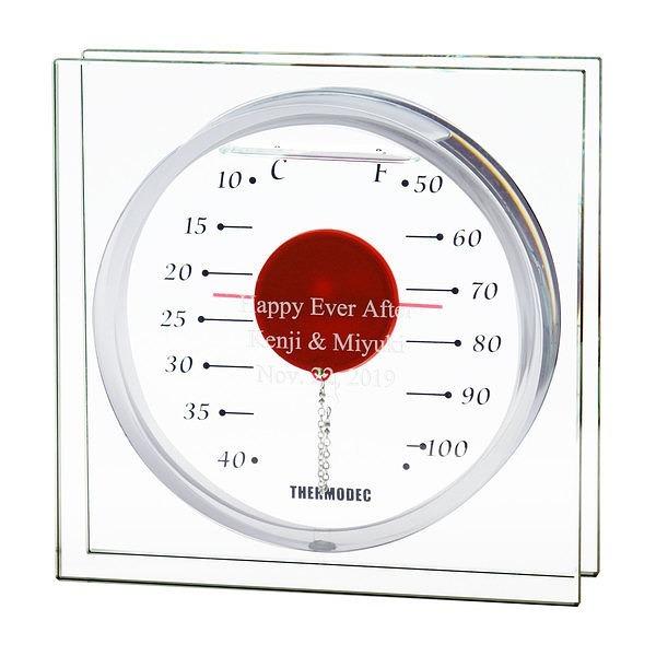 ガリレオ温度計 フロートレッド L